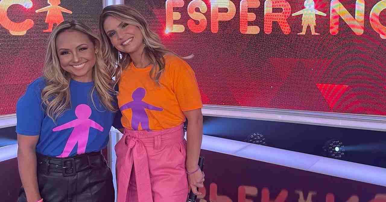 Internautas criticam Aline Barros e Bruna Karla por feat no Criança Esperança