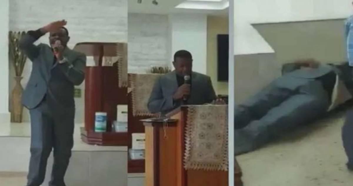 Pastor morre no altar ao glorificar a Deus